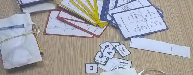 Jeu de cartes en Biochimie